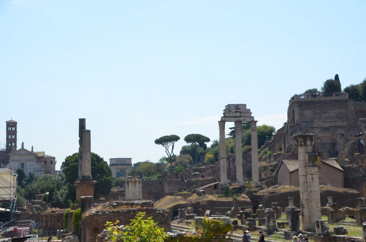Jour 2: exploration de la Rome antique