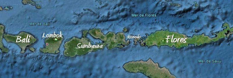 Voyage de rêve sur l'île de FLORES.  Etape 1: MAUMERE - MONI