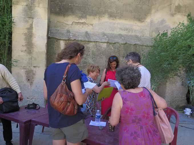 Merci à Jean Pajot, pour avoir représenté l'association aux rencontres photographiques d'Arles 2015