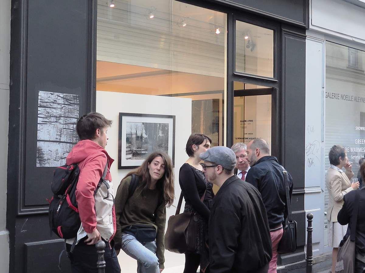 Merci Claire pour cette brillante exposition. © Jean Pajot Galerie UTENS 18 rue Charlot 75003 - Paris du 8 au 27 Septembre 2015