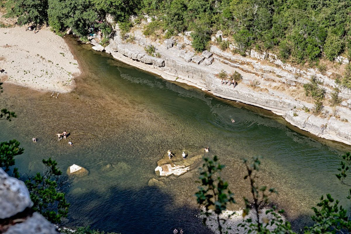 L'Ardèche - Le Bois de Païolive et les Gorges du Chassezac