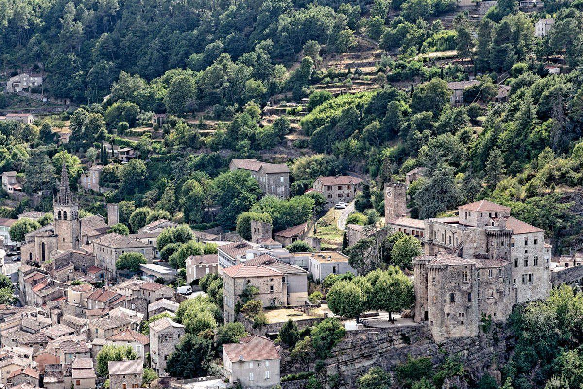 L'Ardèche - Largentière