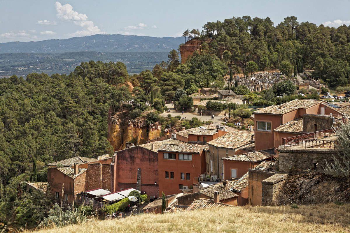 Roussillon  Vaucluse - 1
