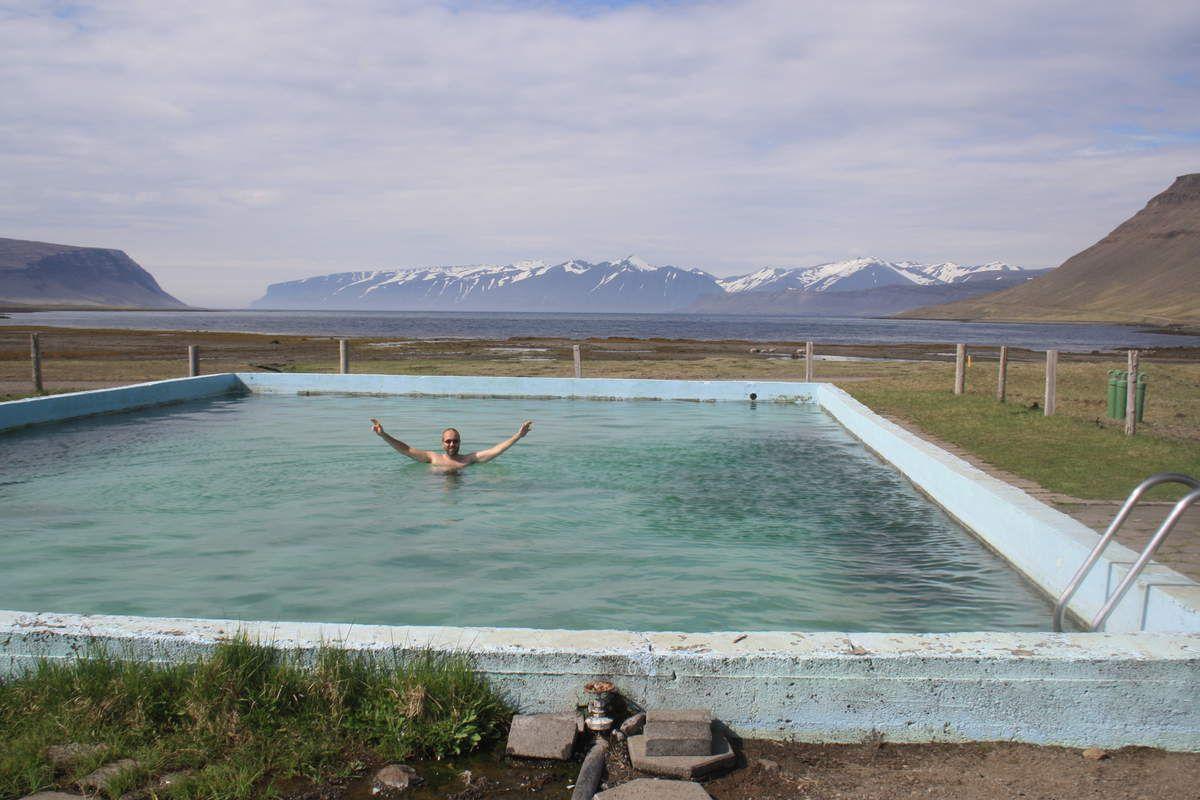 Péninsule de Reyjkanes, nouvelles sources d'eau chaude sauvages....
