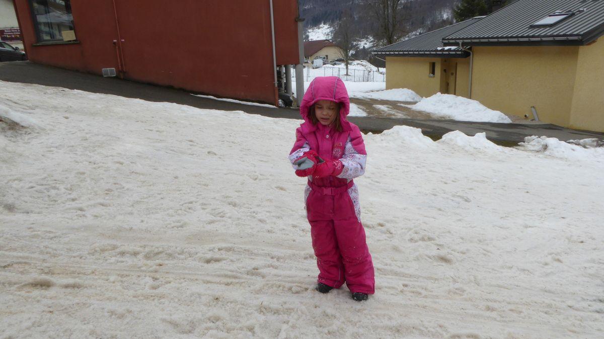 Vacances à la neige (enfin ce qu'il en reste) avec Ppay Bernard et Mamie Joelle