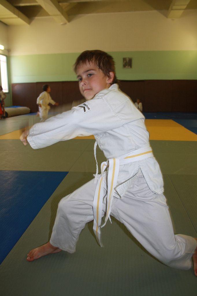 Nouvelle ceinture pour Maxence