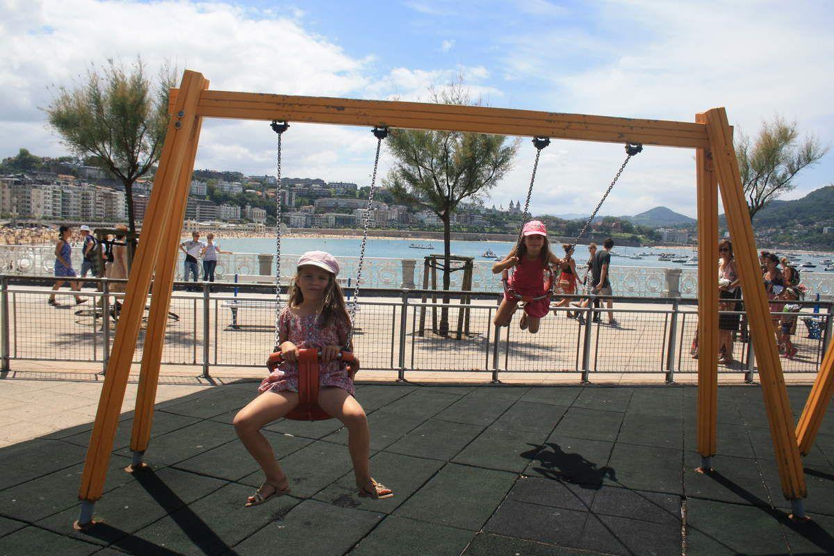 San Sebastian, Donostia en basque, quelle ville magnifique!