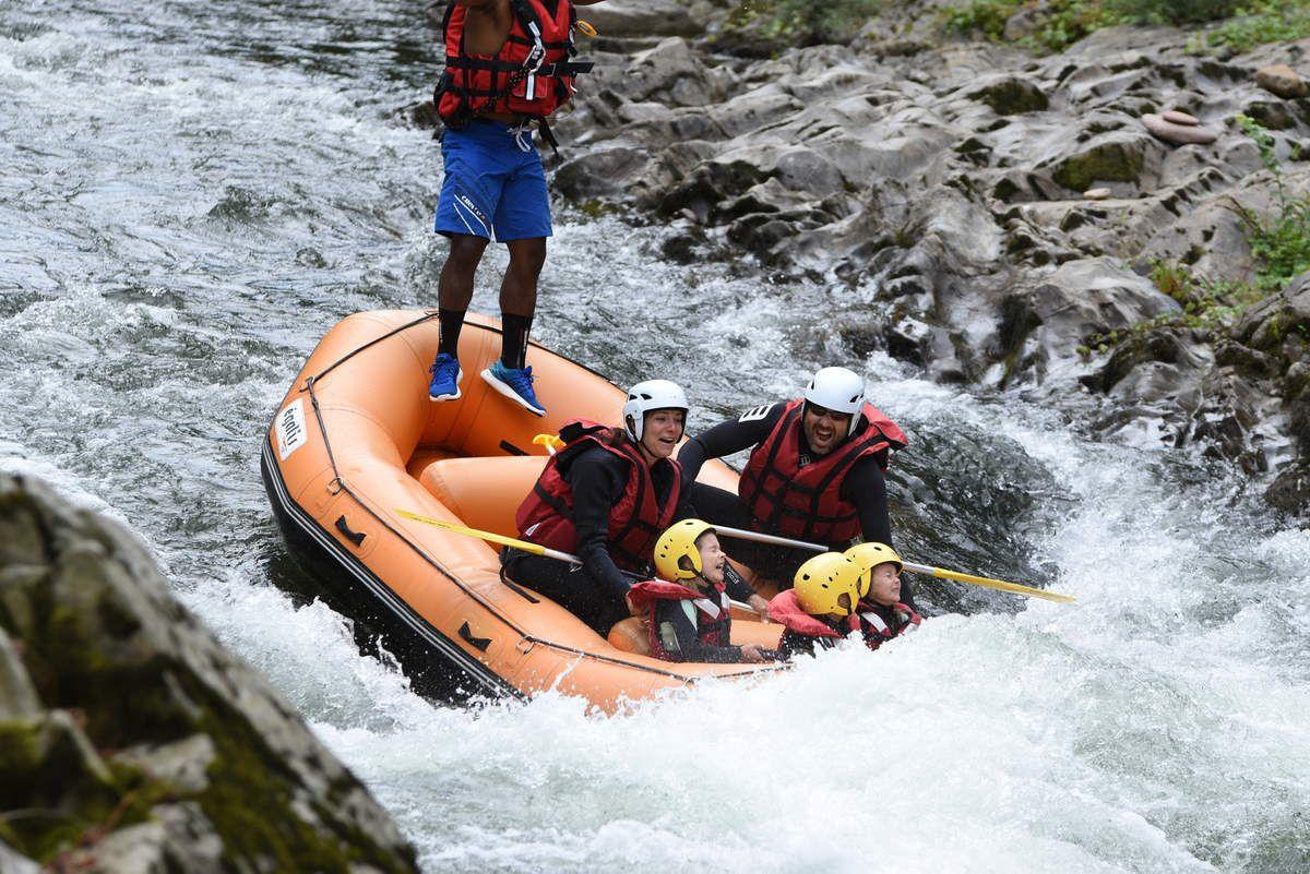 Rafting et canyoning sur la Nive!!