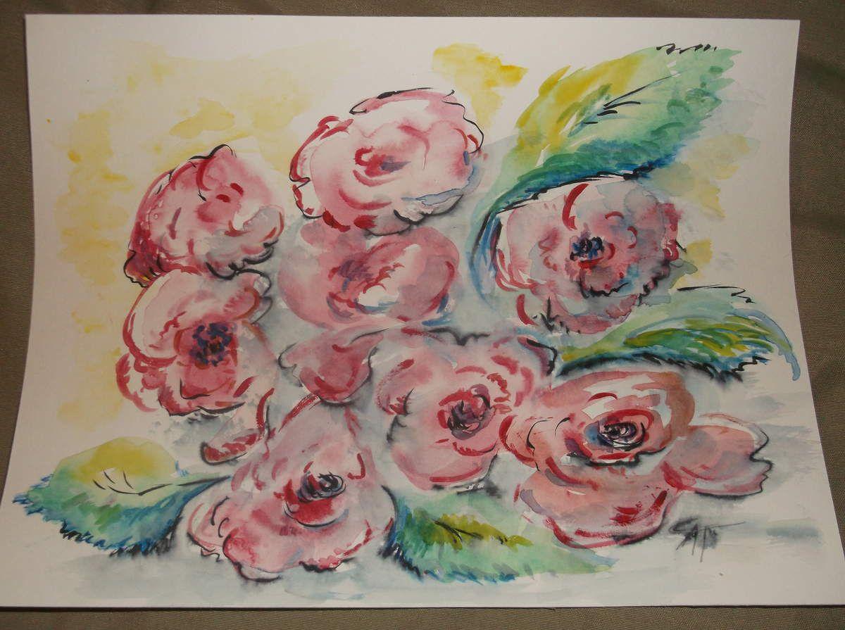 bouquet mouillé  dispo