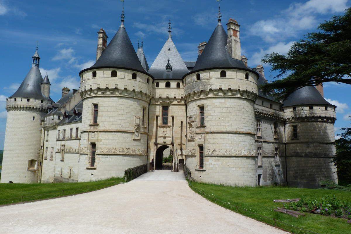 Château de Chaumont sur Loire , superbe architecture.