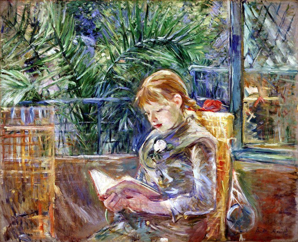 Berthe Morisot - La lecture - Huile sur toile - 1888
