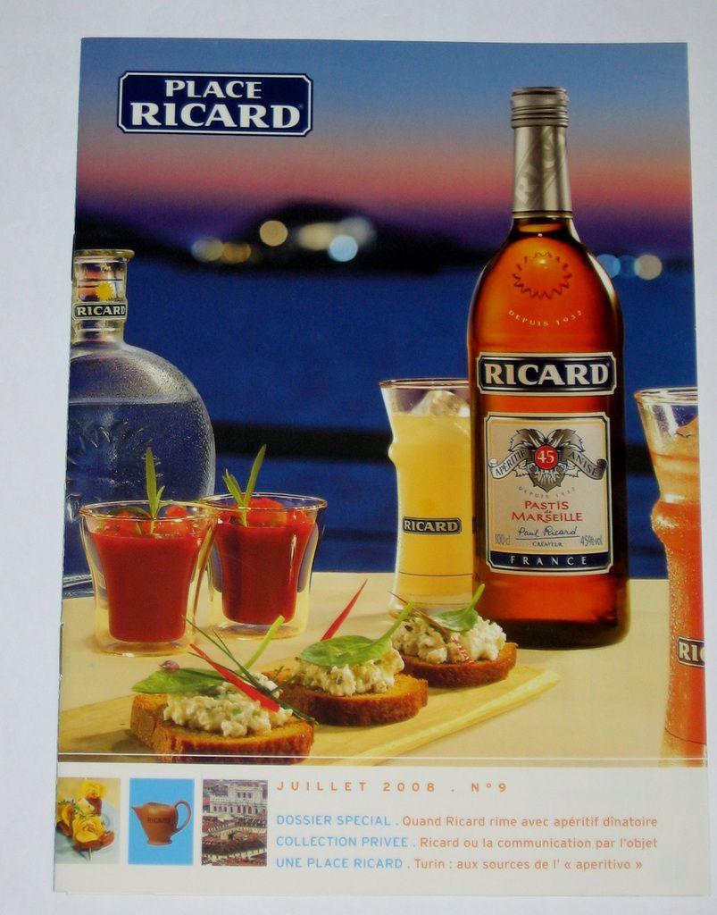Place Ricard n° 9 (Juillet 2008)