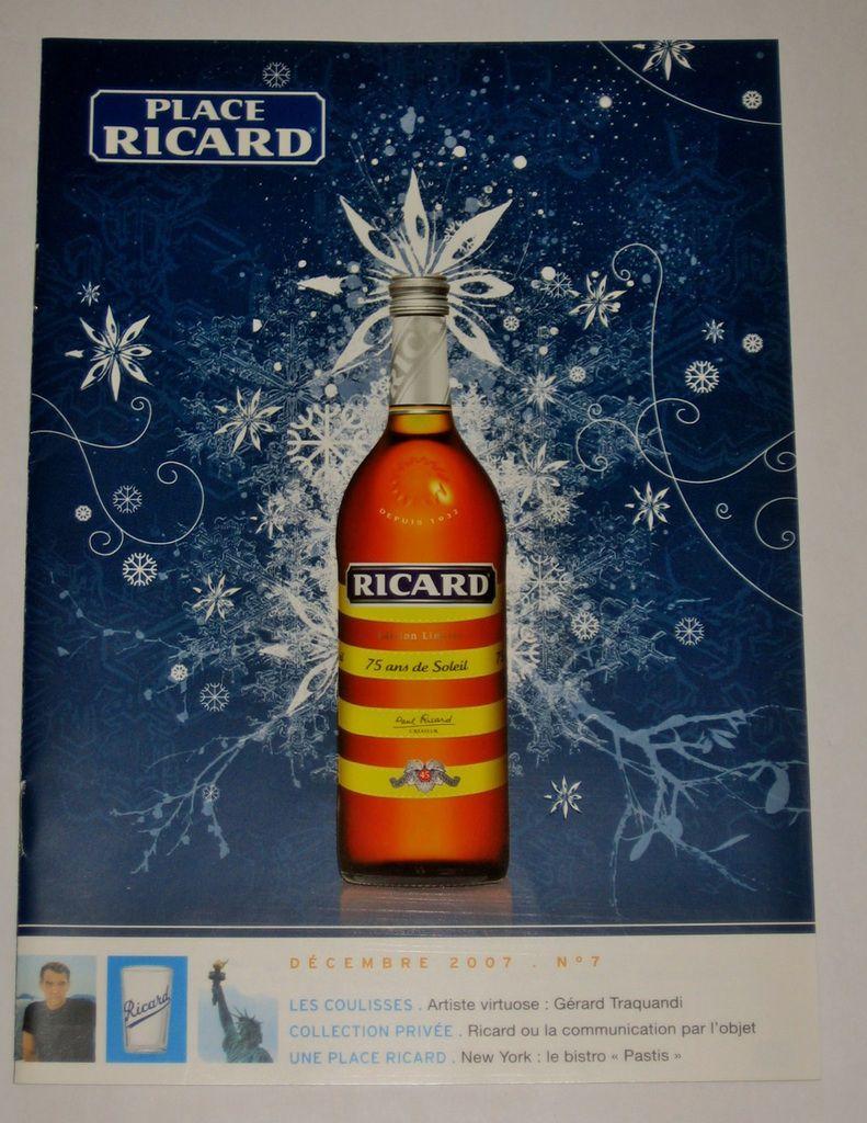 Place Ricard n° 7 ( Décembre 2007)