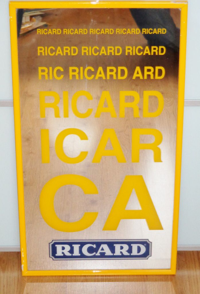 Mirroir ophtalmologue Ricard