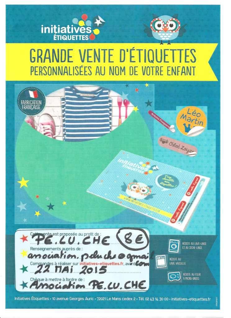 P.E.LU.CHE : Nouveauté !!! Vente d'Etiquettes Personnalisées