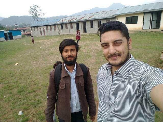 Une partie de l'équipe du programme CTRM, à Bungamati