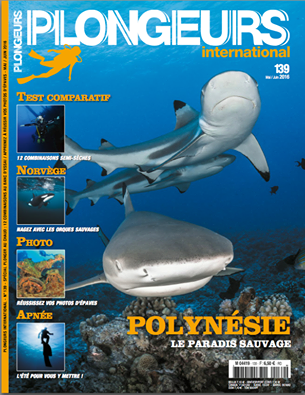 Le magazine Plongeurs International n°139 en kiosques !