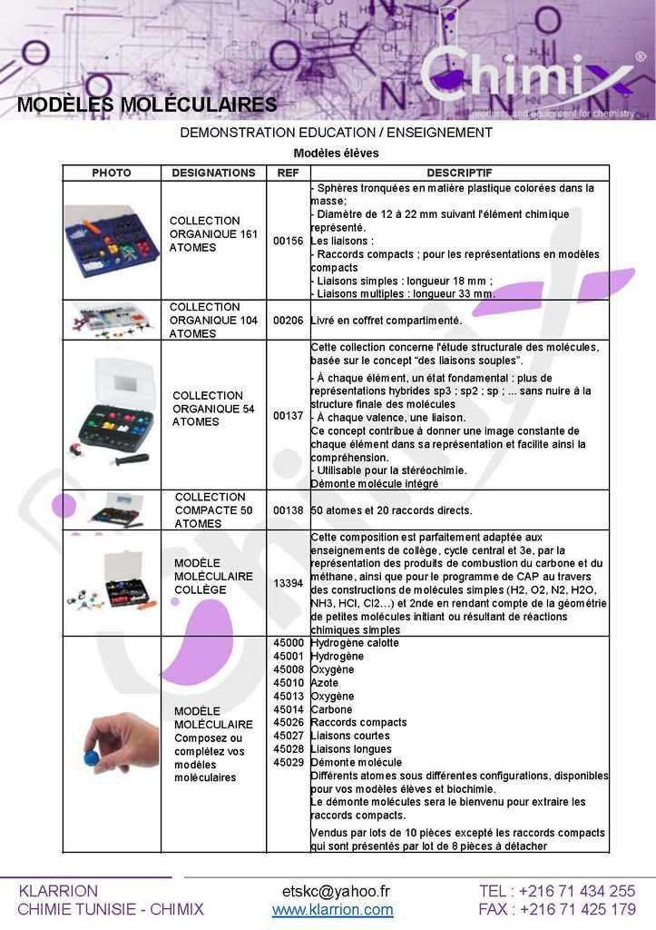 #Catalogue_de_Modéles_Molleculaires_Chimie_Education