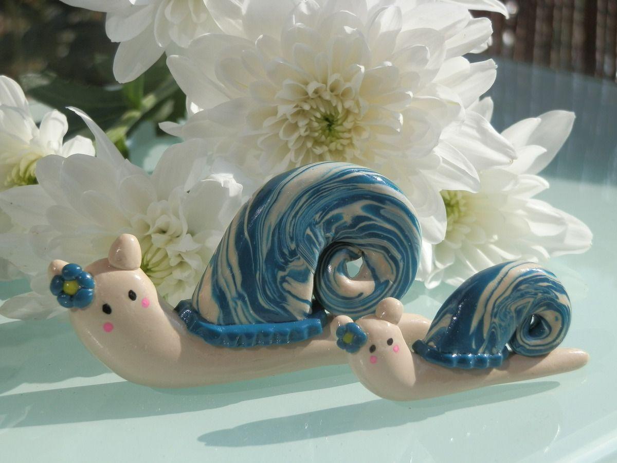 Escargots bleus