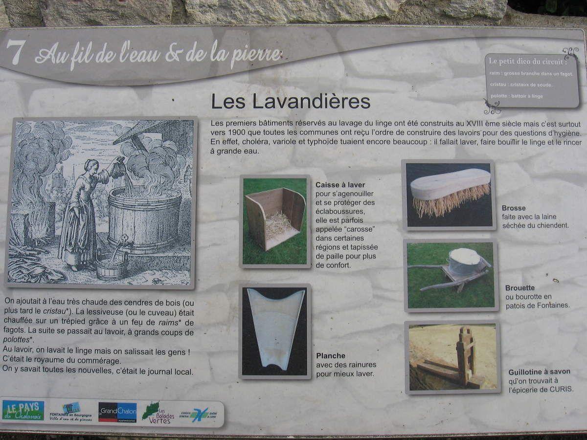Lavoir du quart Canot de Fontaine (71)