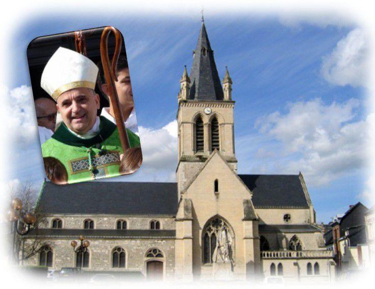 Visite de notre archevêque lundi 6 juin
