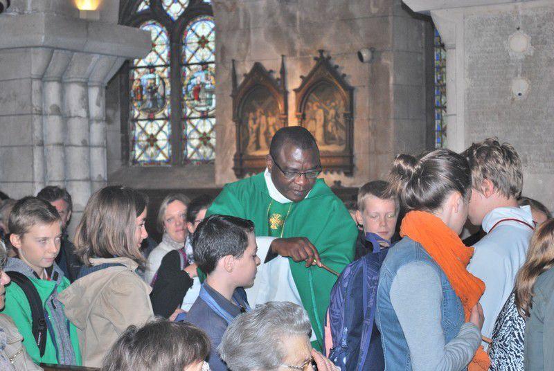 Rentrée pastorale avec bénédiction des cartables