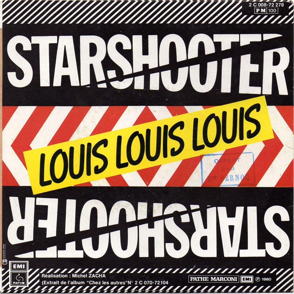 starshooter - machine à laver / louis louis louis - 1980