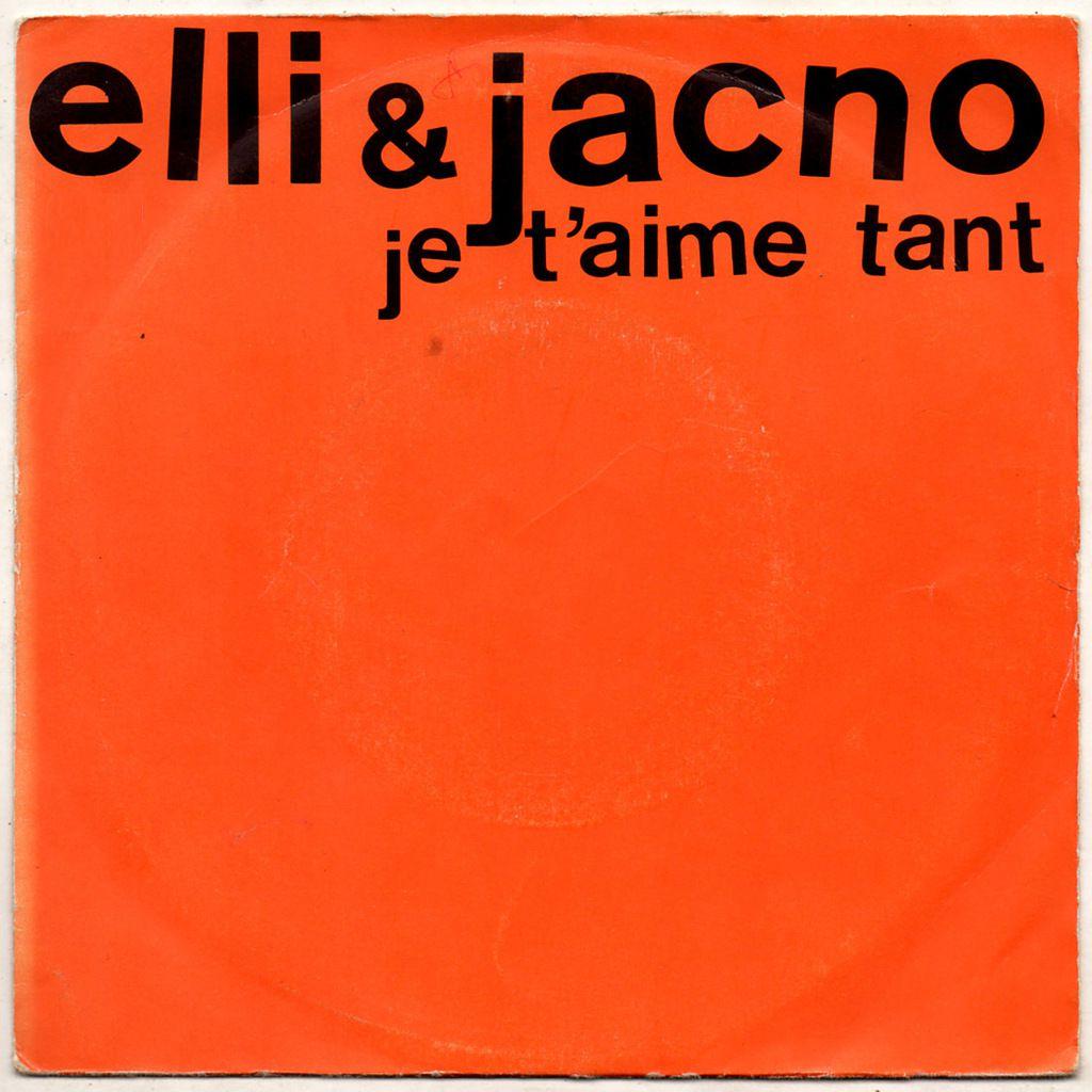 elli &amp&#x3B; jacno - je t'aime tant - 1982