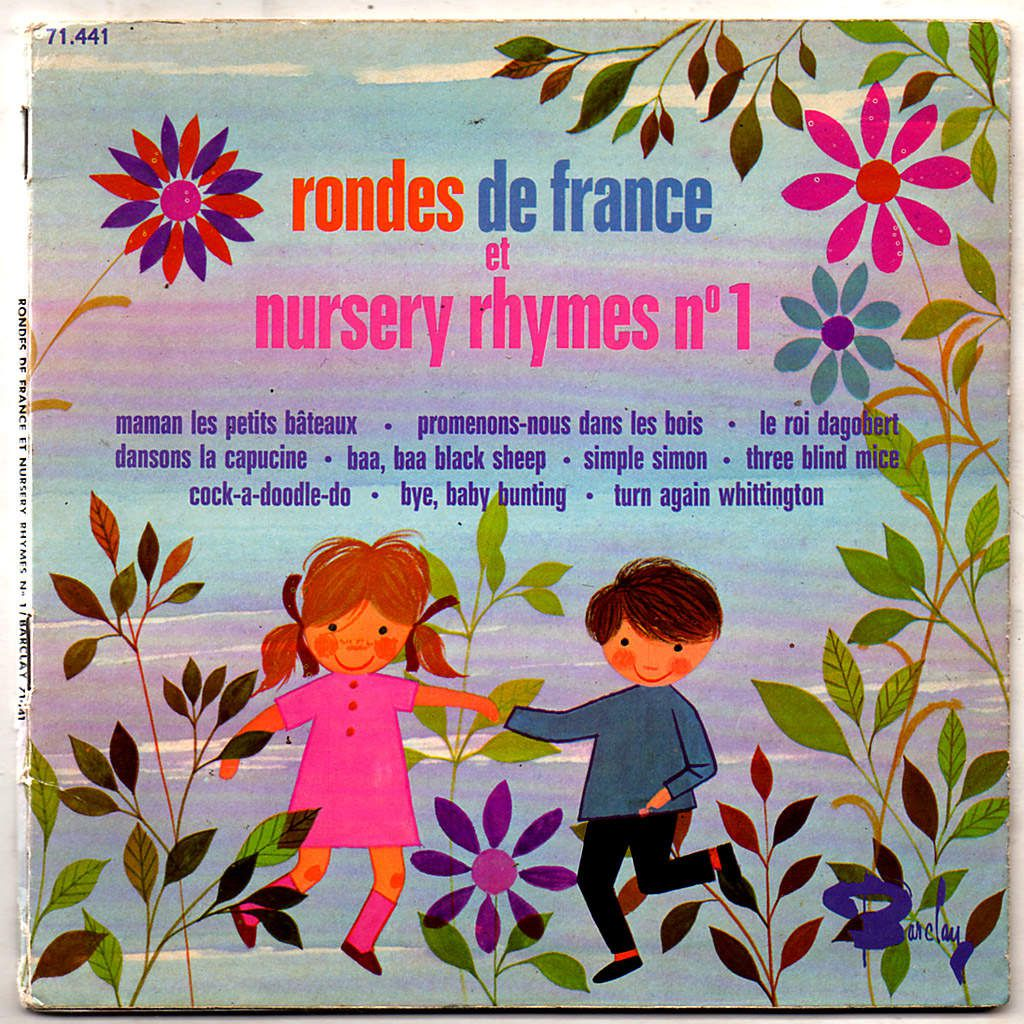 Rondes de France et nursery rhymes n°1