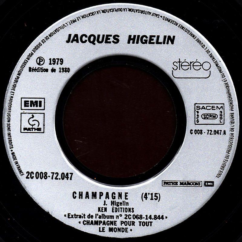 Jacques Higelin - Champagne / 3 tonnes de T.N.T