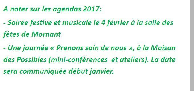 PROGRAMME DECEMBRE 2016