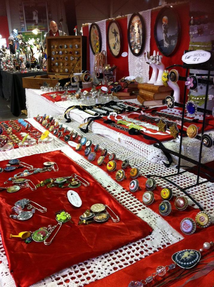 Le stand loplop du week end dernier au marché de Noël à Gardanne