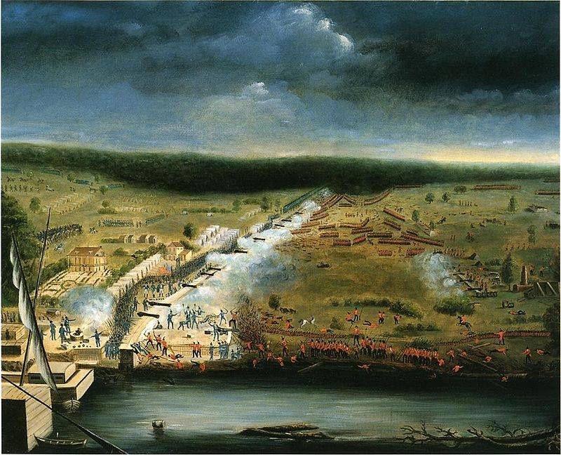 8 janvier 1815 Bataille de la Nouvelle- Orléans.