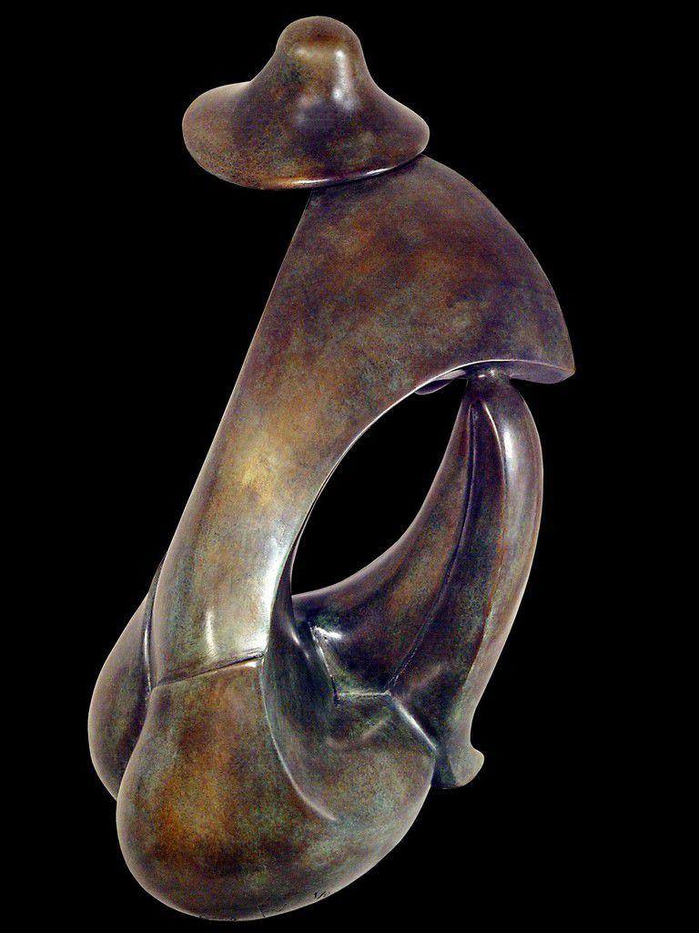 ONDINE ( bronze ) H: 24 cm