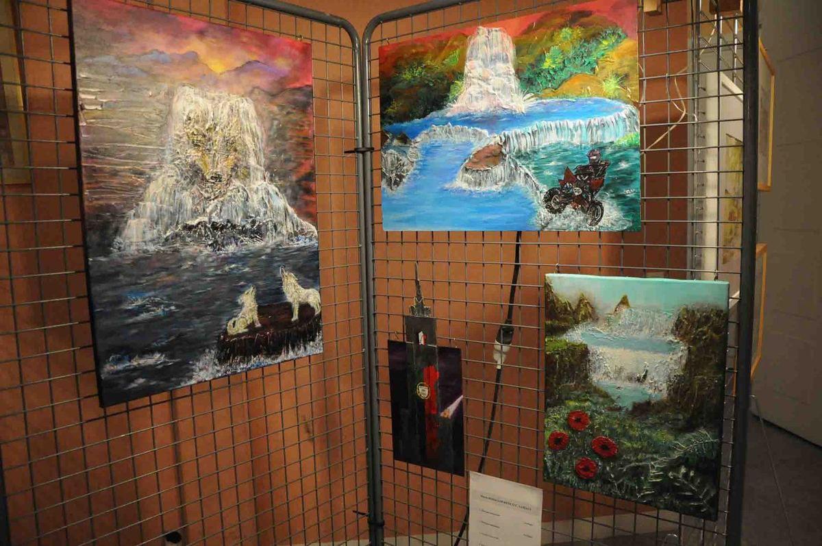 17ème Salon des Peintres d'Ecquevilly Le vernissage