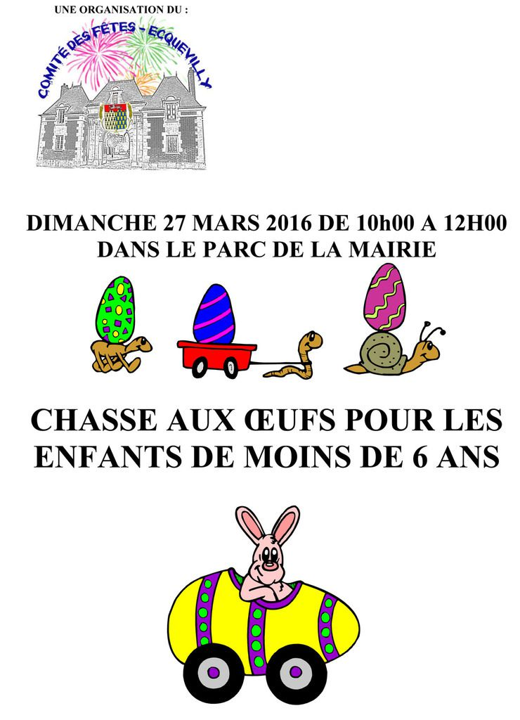 CHASSE AUX OEUFS 2016