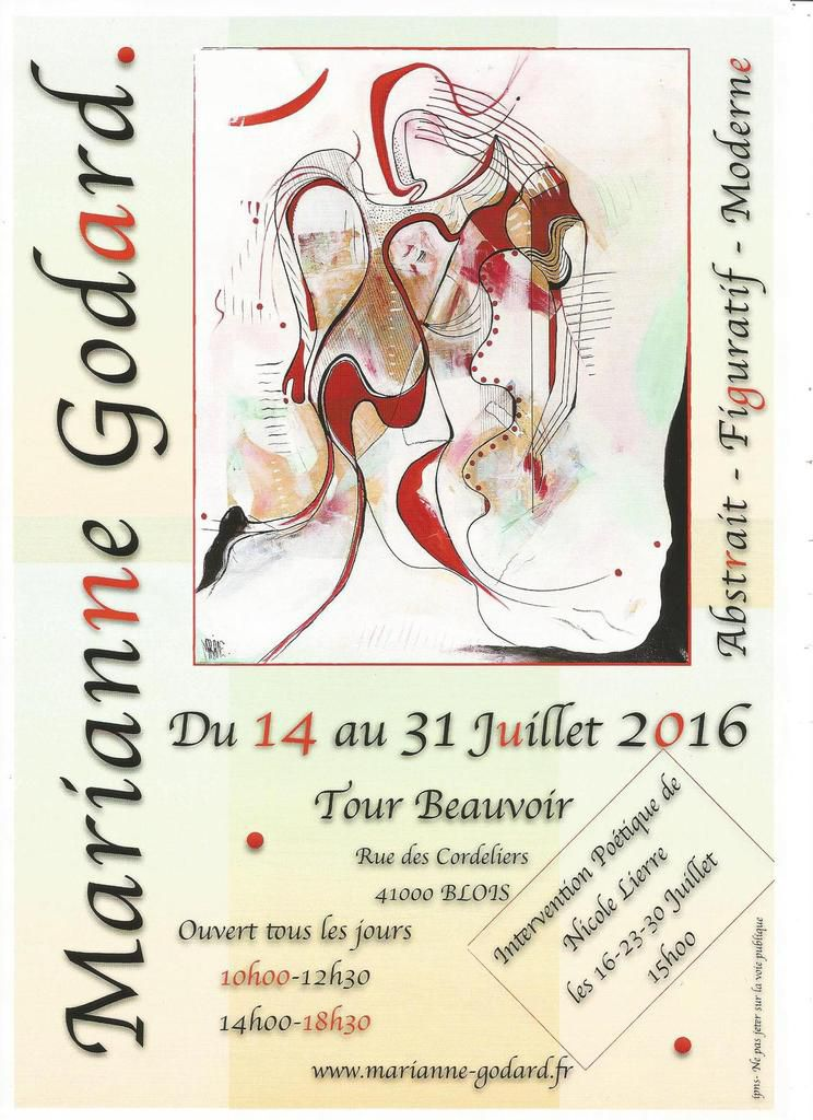Expo et poésie Tour Beauvoir