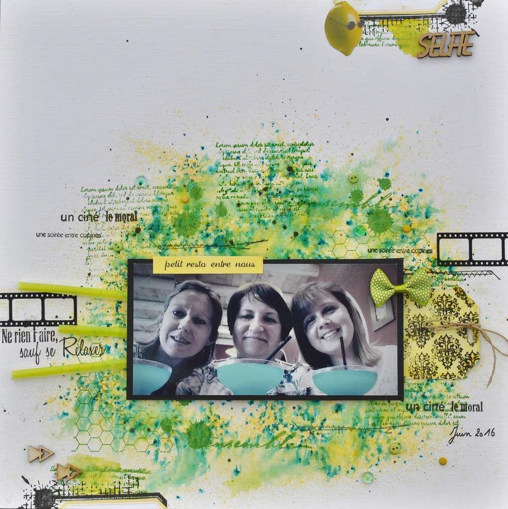 Soirée entre copines-Défi n°2 Tournoi Lime Citron
