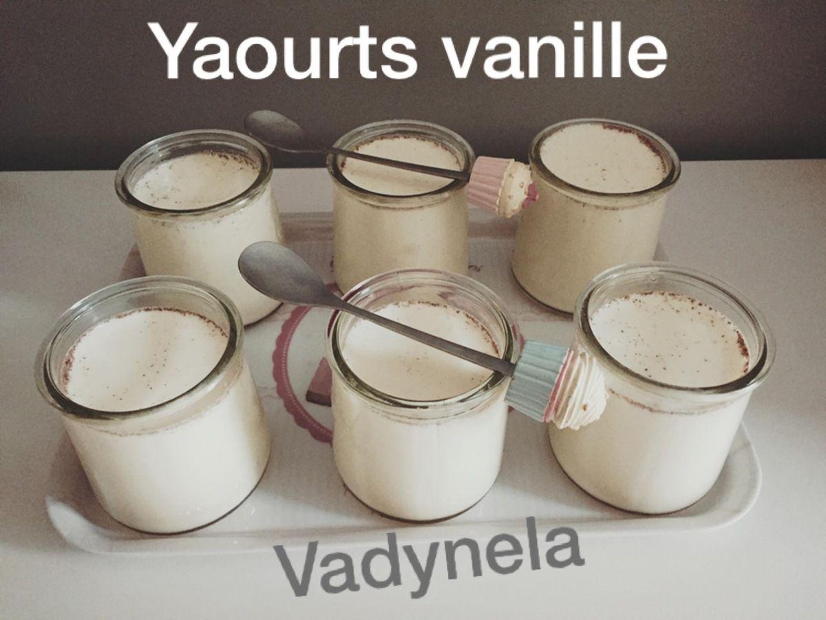 Yaourts vanille Cookeo® Yaourts vanille Cookeo® Yaourts vanille