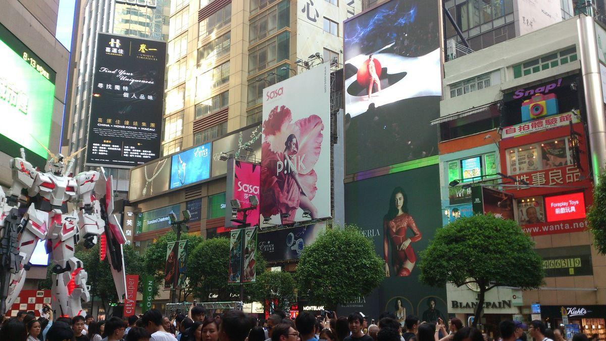Adieux à Hong-Kong