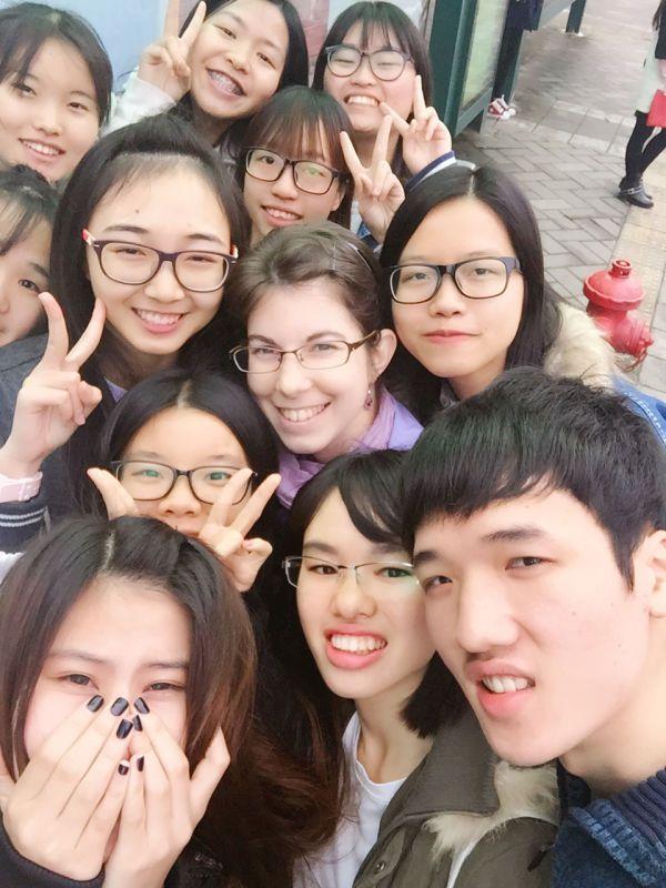 再见 (au revoir) la Chine
