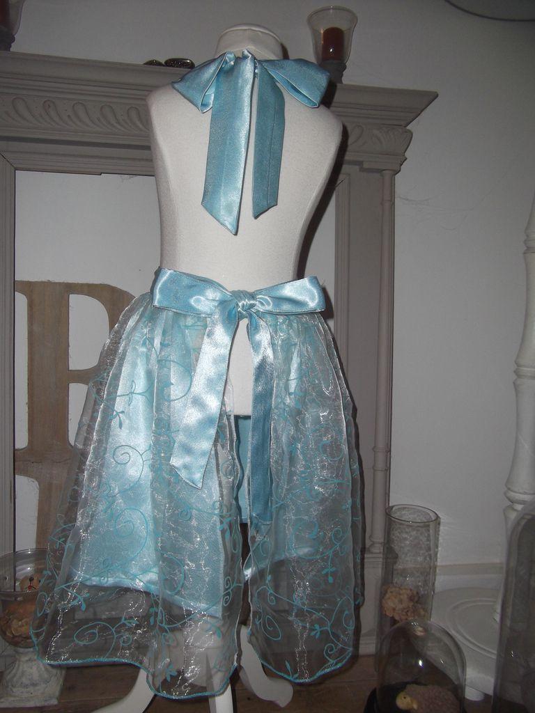 Robe-tablier de princesse