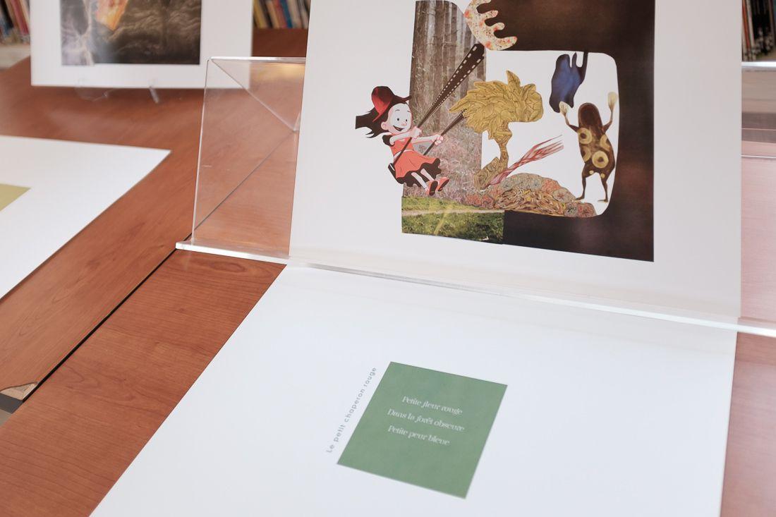 Contes en haikus : l'exposition et le livre virtuel