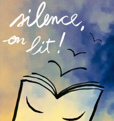 Logo de l'association Silence, on lit !