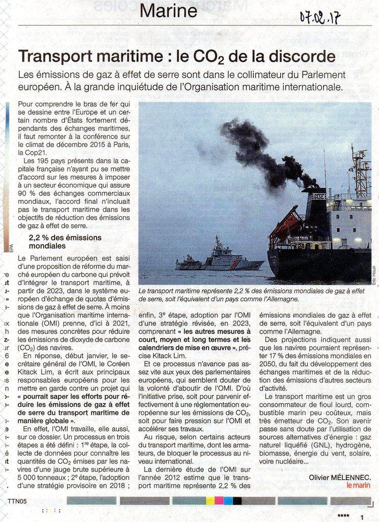 Articles parus dans Ouest-France des 7 et 19 février 2017