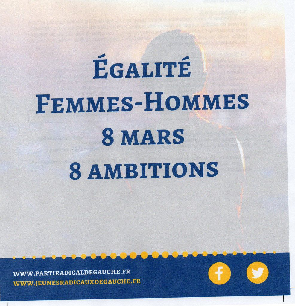 Journée internationale de la femme - 8 mars 2017 - PRG - Dominique Nouet - PRG29