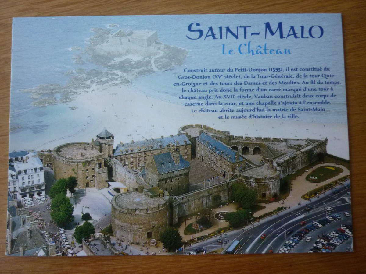 SAINT-MALO : le Château