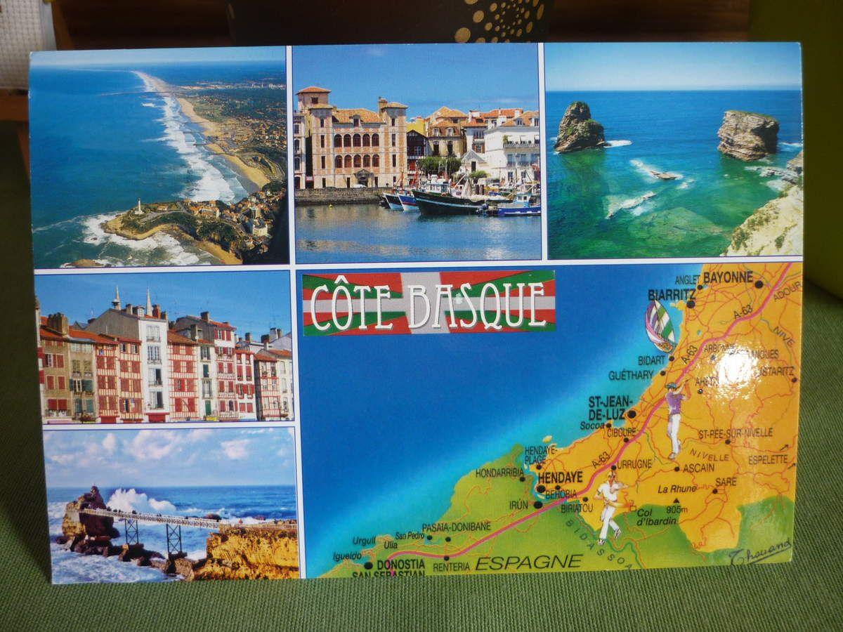Août 2016 - Reçu Caroline - ses vacances à la Côte Basque