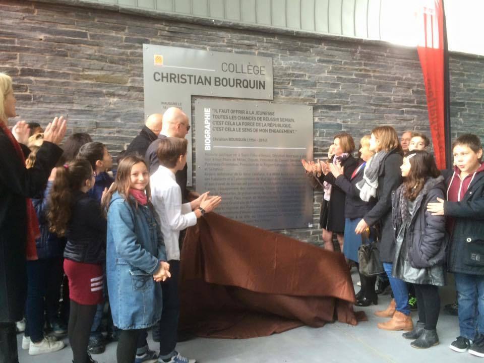 Inauguration du collège Christian Bourquin