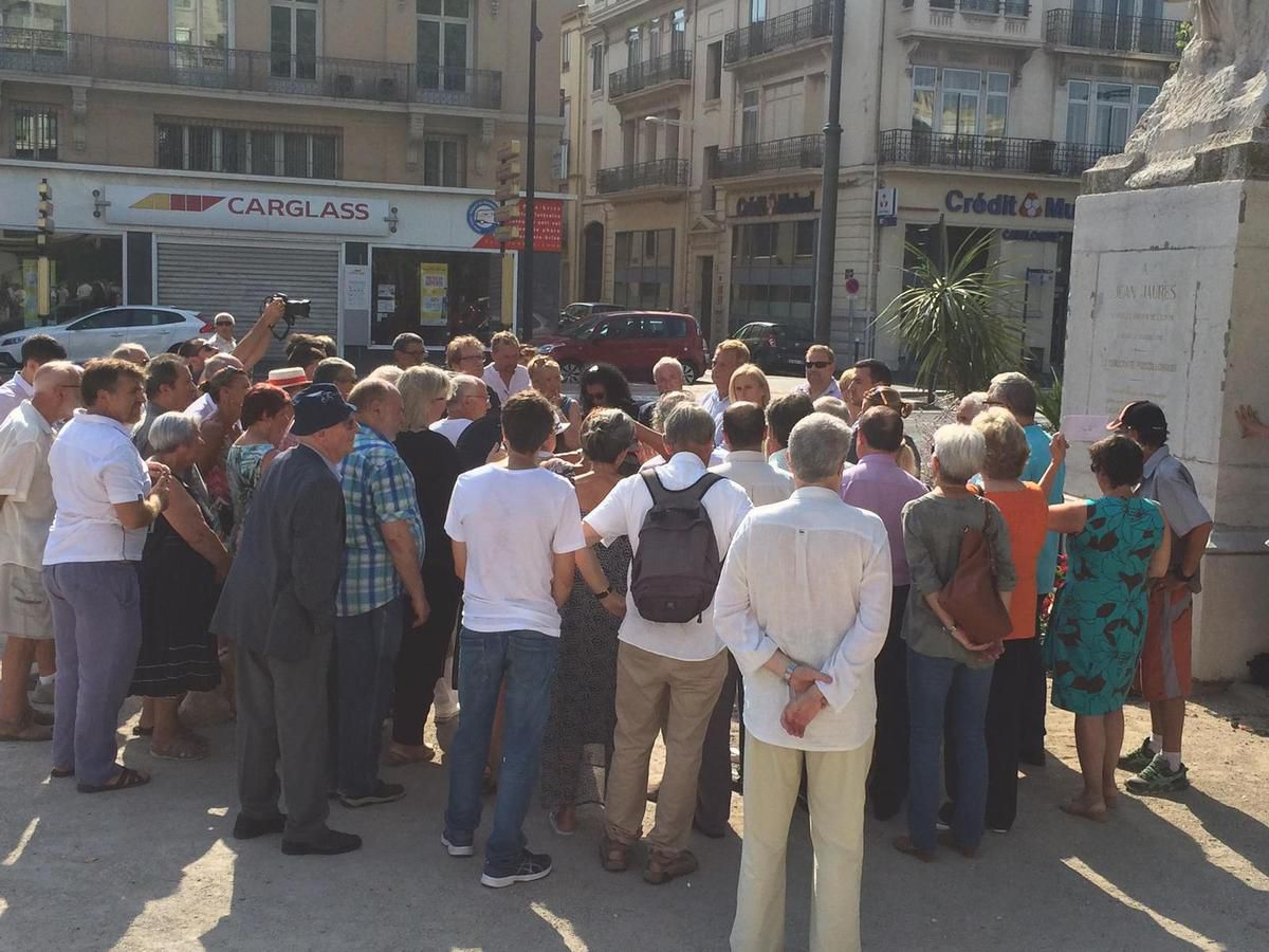 Comme tous les ans, hommages à Jean Jaurès à Perpignan et à Millas - 102 ans après sa mort
